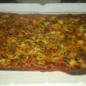 Plaque pizza